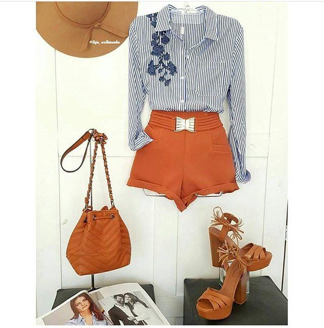 WEBSTA @ lenisesca - Inspiração para o dia-a-dia!!!!Foto: @loja_arthmanha.....#instamoda #instafashion #moda #fashion #roupasfemininas #roupafeminina #roupas #roupa #mulher #vaidosa #feminices #chique #elegante #tanamoda #modafeminina #look #lookdodia #lookdanoite #meninas #menina #inspiracao #camisa #shorts #lookbasico #boatardee #lindaa #blogueira #modinha #bordado #instablog