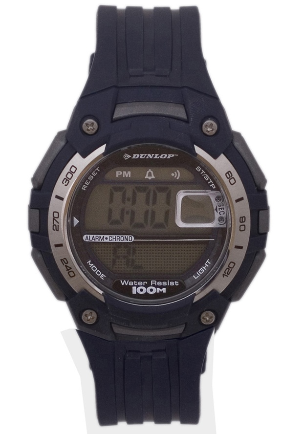 Price:$23.13 #watches Dunlop DUN-136-G04, This Dunlop Digital timepiece is designed for the sporty Men. It's size, ruggedness and multiple functions make it a great value.