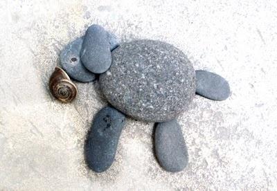 Rock animals #kids, #crafts, #rocks