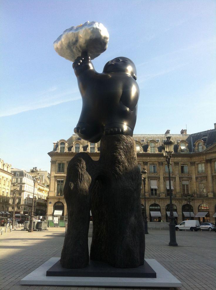 Place Vendome, Paris France