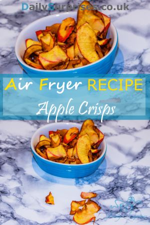 Apple crisp recipe! If you are looking for healthy things to snack on, this is a must for you! It only needs 3 ingredients, or 4 if you want it to be cinnamon flavored.