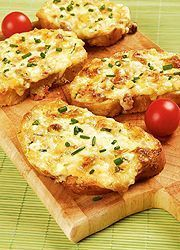 Melegszendvics mascarponés-sonkás-sajtos krémmel
