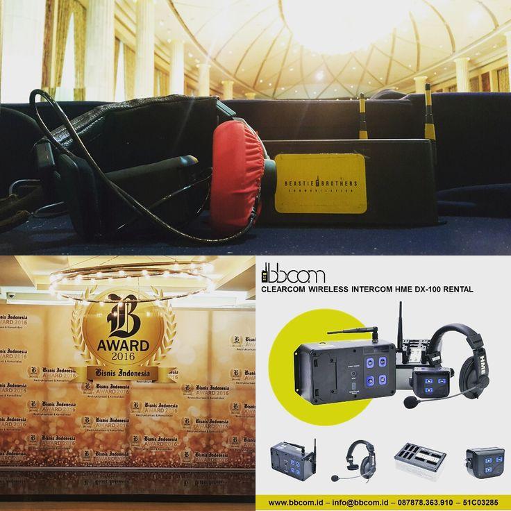 BBCOM Suppport Jasa sewa dan rental Clearcom HME di Hotel Kempinski Jakarta