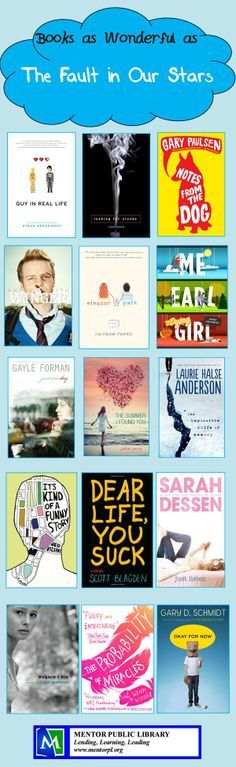 Books for fans of The Fault in Our Stars.