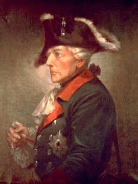 Frederick II, the Great(January 24, 1712-August 17, 1786): King of Prussia.    During his 40-year reign, Frederick II vastly increased Prussia's wealth, doubled its size, recast it into a hub of culture and learning, and made it a great military power.