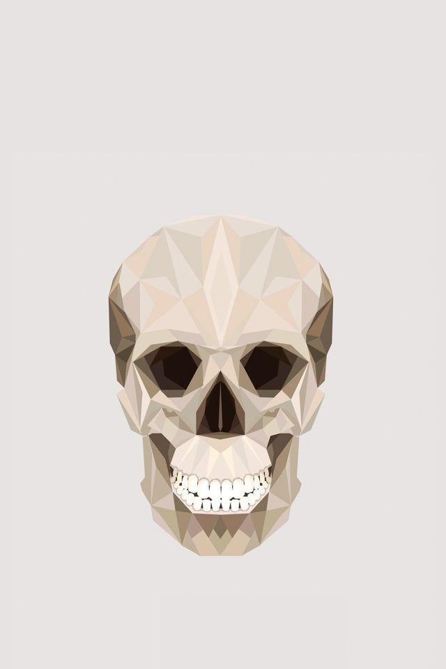 Skull. Geometric AnimalGeometric ArtGeometric DesignsAlphabet ...