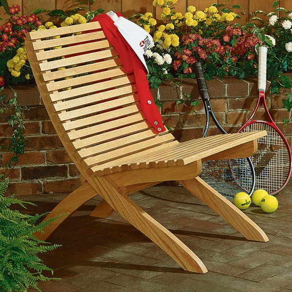 Two Part Chair : Large Format Paper Woodworking PlanOutdoor Outdoor  Furniture
