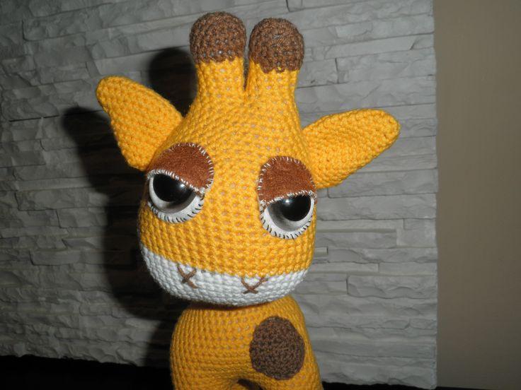 hačkovaná žirafa