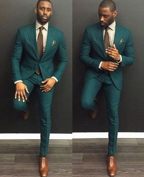 Verde scuro Slim Fit Smoking Groomsmen Su misura 2 Pezzi degli uomini  Promenade di Cerimonia Nuziale Cena Abiti Best Man Sposo Costumi 2016 23b8a515d3a