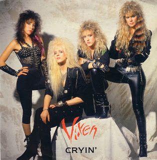 Heavy Metal: Moda Feminina Vixen band