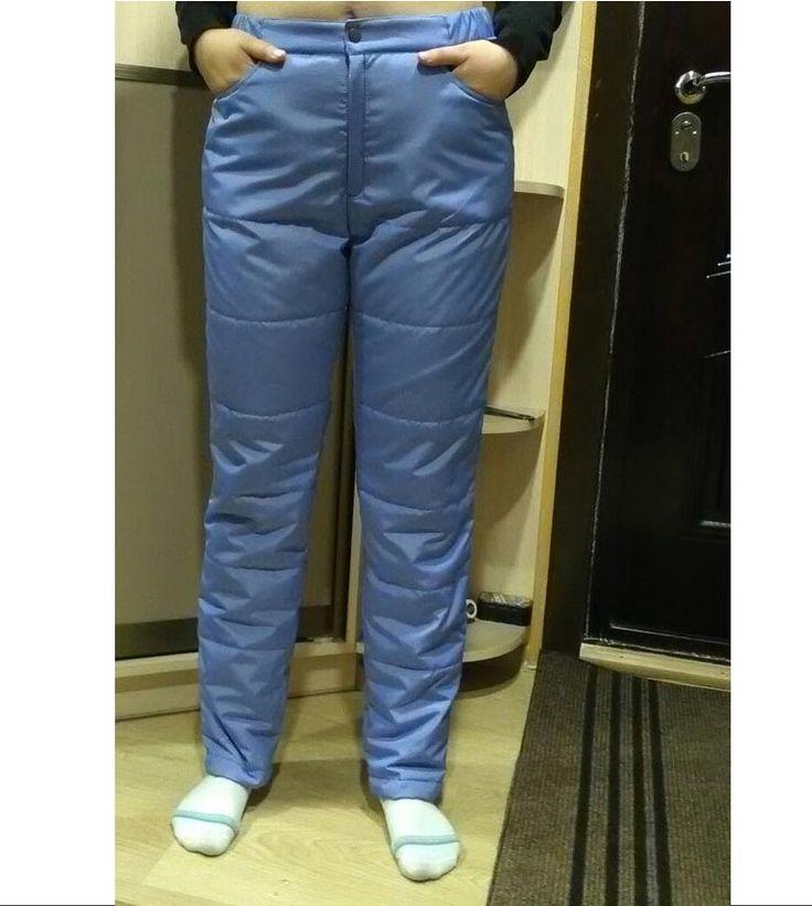 Мастер-класс: женские утепленные брюки — Шкатулка
