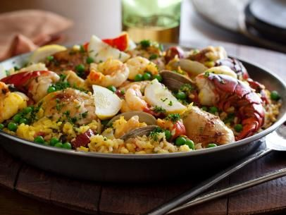 The Ultimate Paella Recipe : Tyler Florence : Food Network