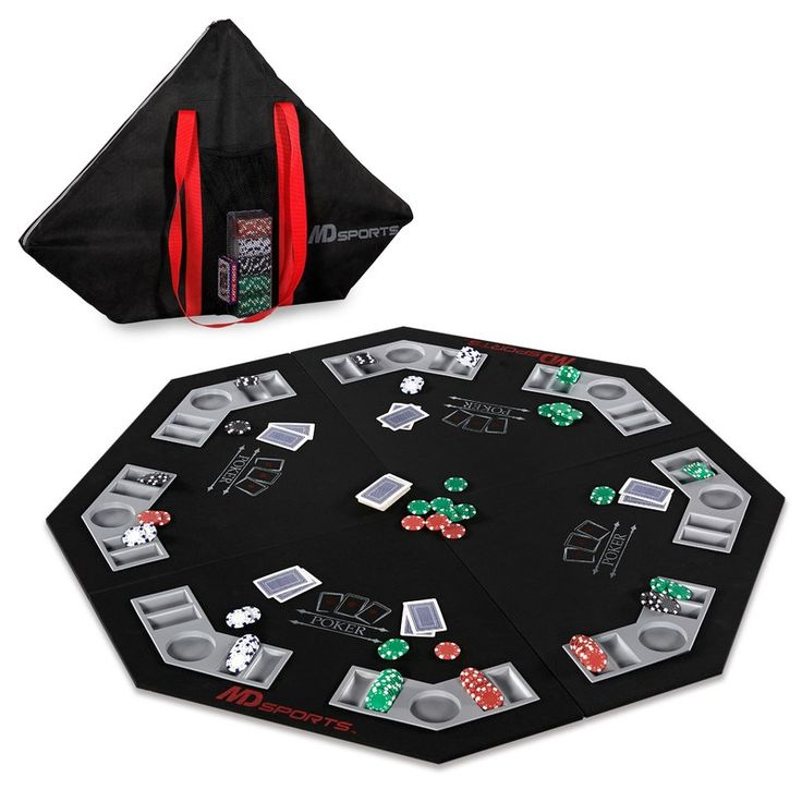 "46.7"" Player Conversion Poker Table Top"