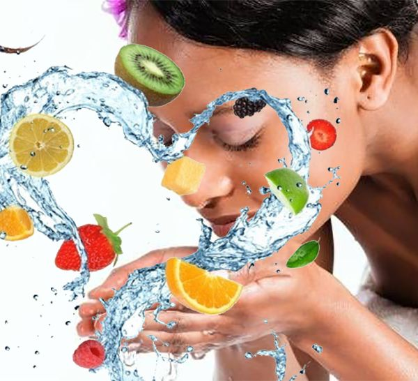 Natural AHA Alpha Hydroxy Acid Alternatives to Chemical Facial Peels using Fruit and Vegetable Acids in Skincare -