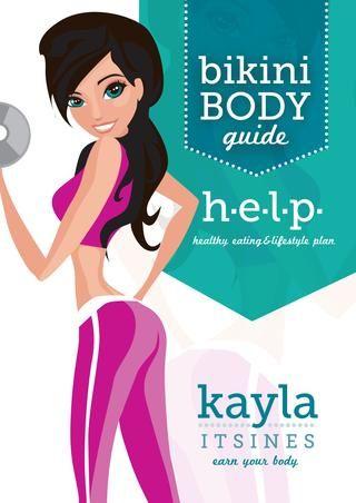 biKini  h e l p nutrition guide  Kayla Itsines
