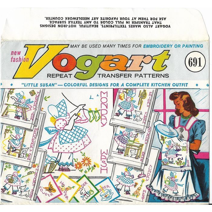 Vogart Hot Iron Transfers 691 Little Susan Days of the Week 12 Transfers Unused Listing in the Fabric Transfers,Fabric Painting & Decorating,Crafts, Handmade & Sewing Category on eBid Canada | 167811346 CAN$ 8.00 + shipping