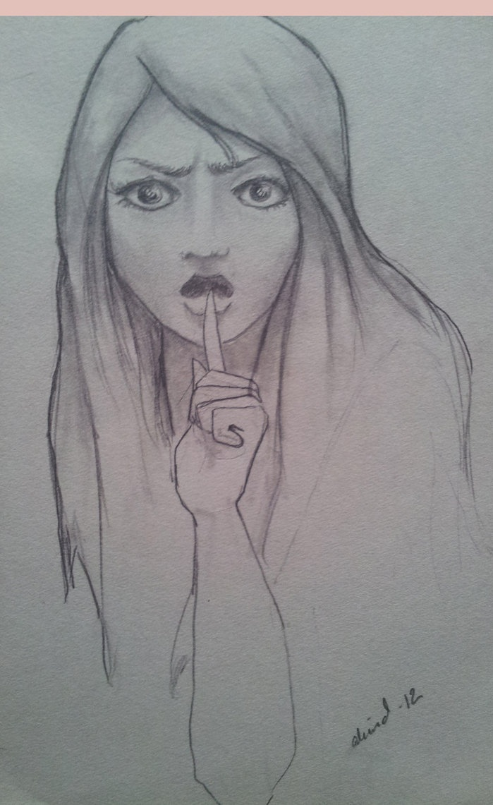 Hush - enough! by ~Amluan on deviantART