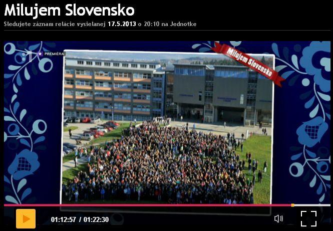 STV - Milujem Slovensko