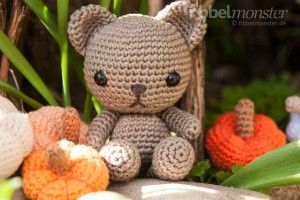 "Amigurumi – Teddy häkeln ""Henry"" (Ribbelmonster.de)"