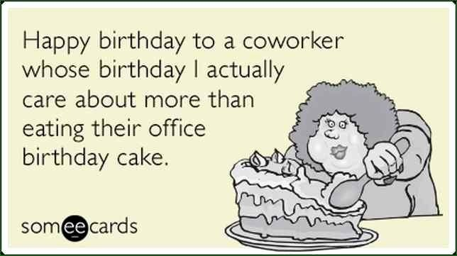 Happy Birthday Wishes For Coworker Awesome Unique Colleague