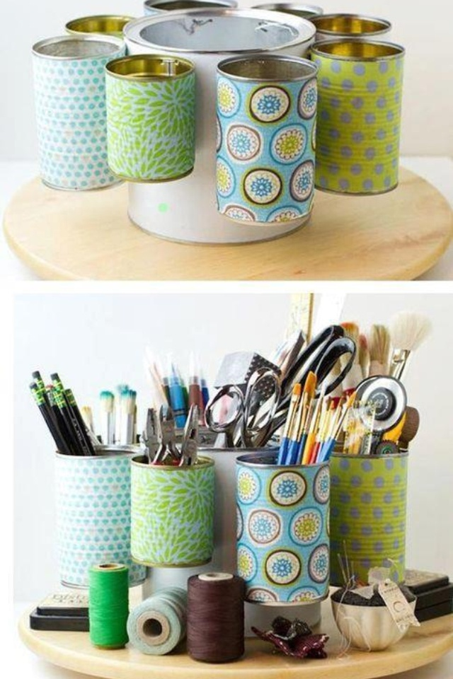 Doing this for my desk, plus I always have empty formula containers
