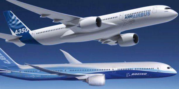 Airbus-Boeing : une bataille de titans autour des long ...