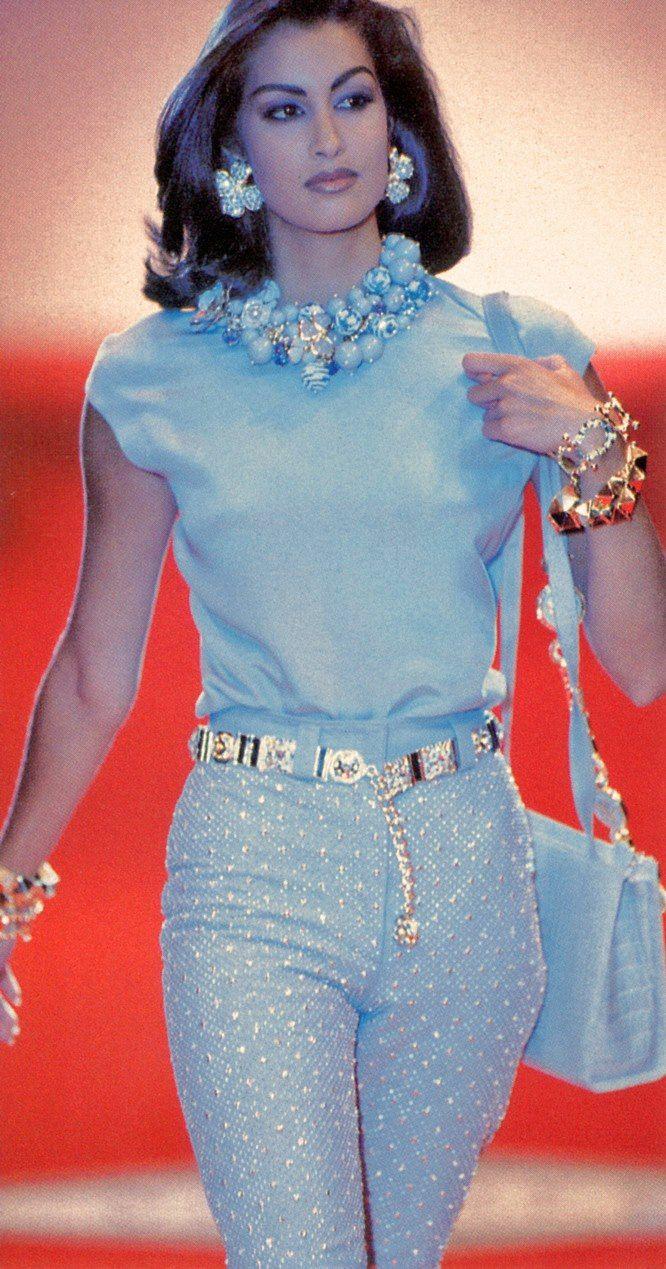 Gianni Versace Haute Couture Atelier Fall 1991 / Yasmeen Ghauri