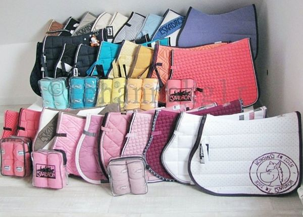 My future saddle pad collection.
