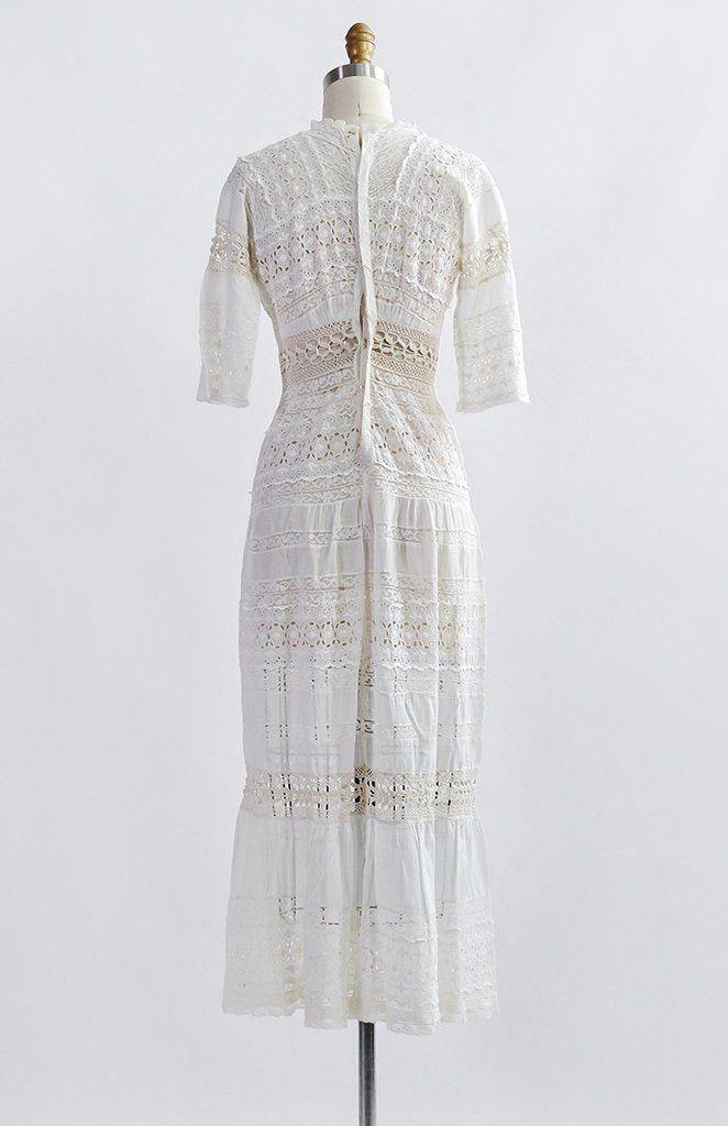 Bronte Parsonage Dress / antique 1900s dress / antique Edwardian dress – Adored Vintage