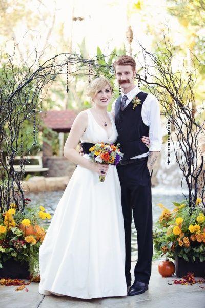 Halloween theme wedding