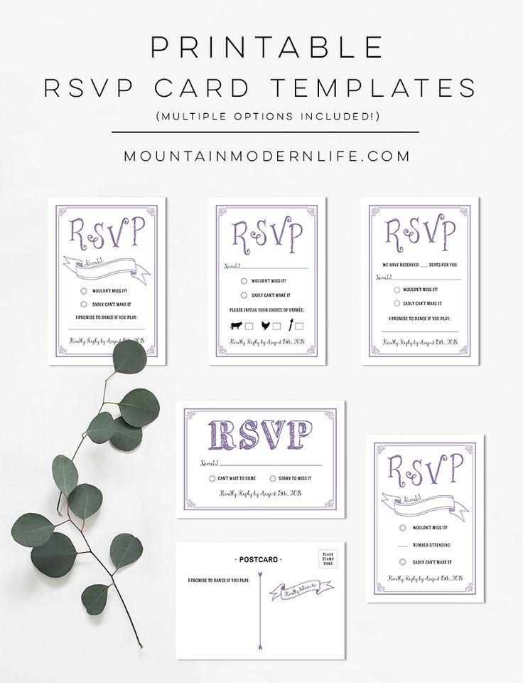 Exceptional 25+ Cute DIY Wedding Rsvp Cards Ideas On Pinterest Rsvp, DIY   Party Rsvp  Party Rsvp Template