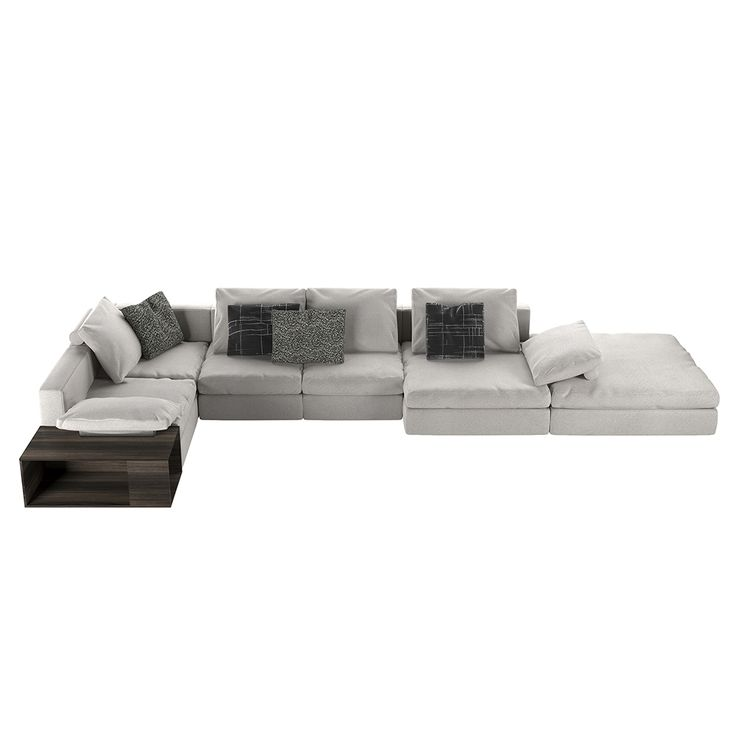 Shop SUITE NY for the Mosaique modular sofa by Piero Lissoni for DePadova, and more modern modular sofas, and upholstered italian designer sectionals.