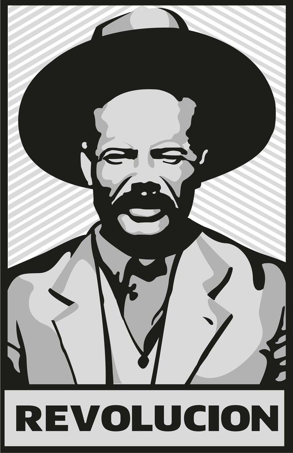 Pancho Villa by Fernando Garza, via Behance