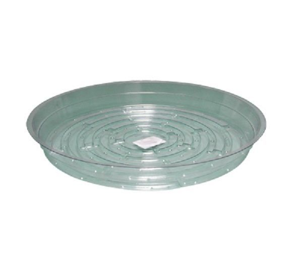 Baskets Pots And Window Boxes 20518 Clear 10 Inch Saucer 3 6 12 25pk Vinyl Reuseable Sturdy Plant Pot Tray Baskets Pots And Window Boxes 20518 Tray Garden Pots Window Boxes