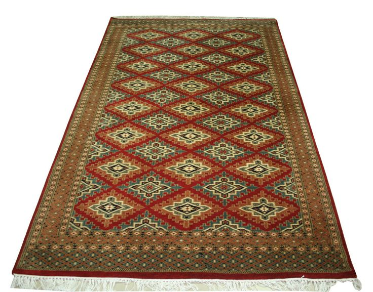 New Hand-knotted Persian Carpet 4'x6' Persian Tribal, Wool Carpet Area Rug  #Unbranded #carpet