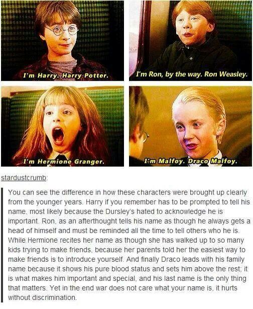 Harry Potter Names