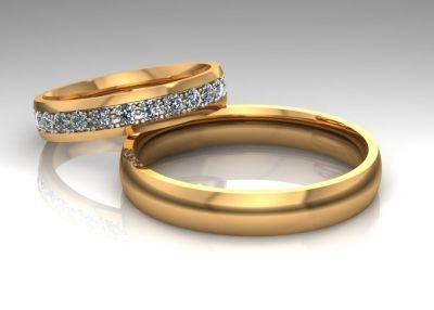 Обручальные кольца эпл парные