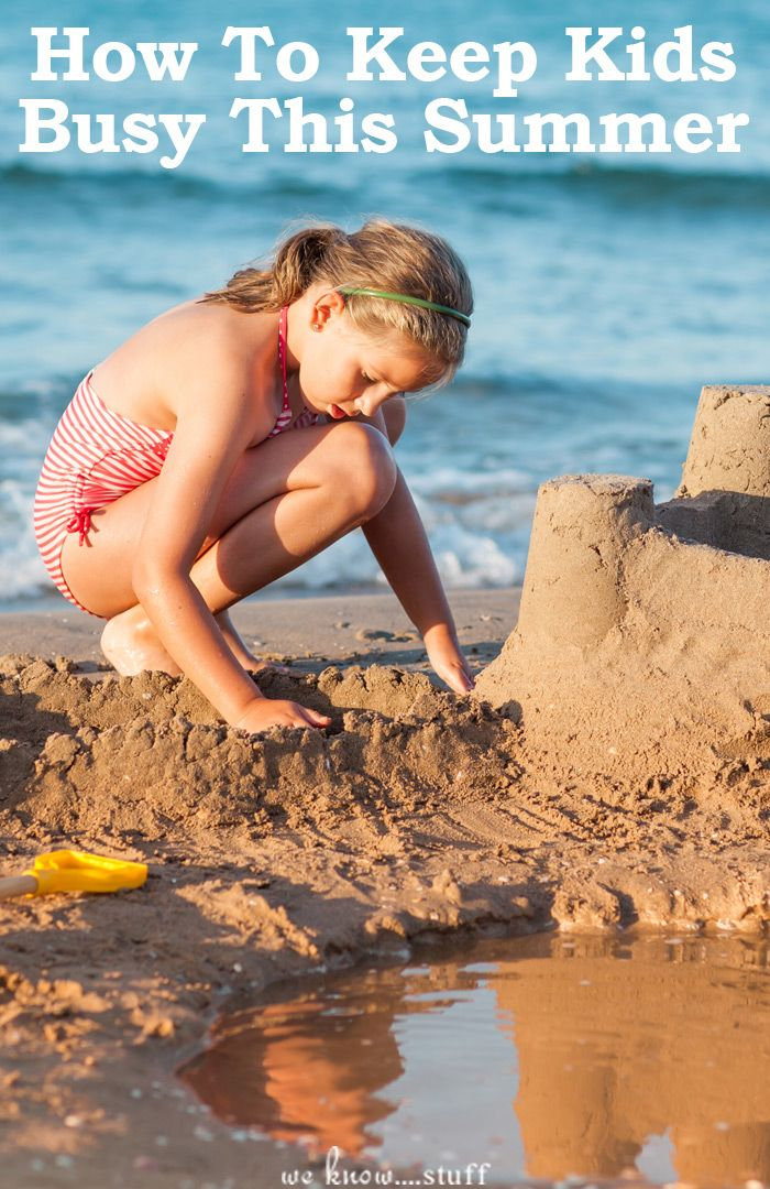 4 Ways To Keep Kids Busy This Summer: Lazy summer days can be hard on children with special needs because they crave the structure that school provides.