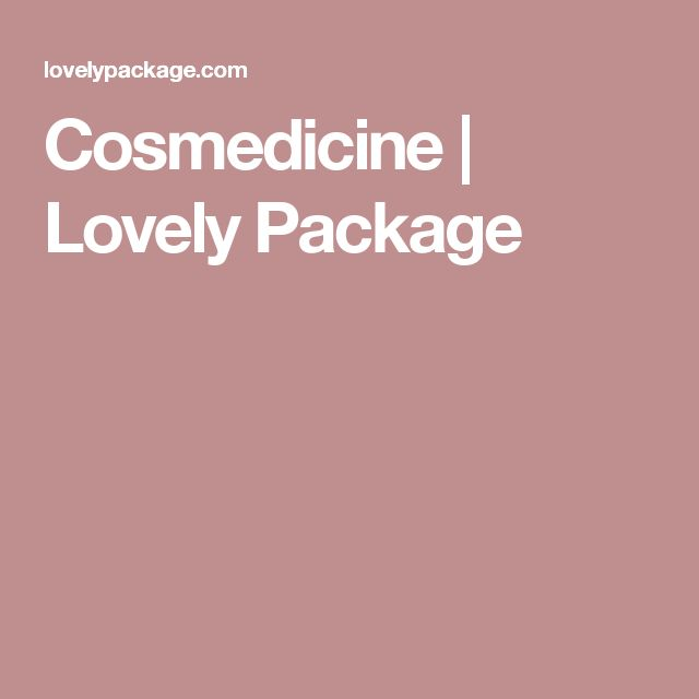 Cosmedicine    Lovely Package