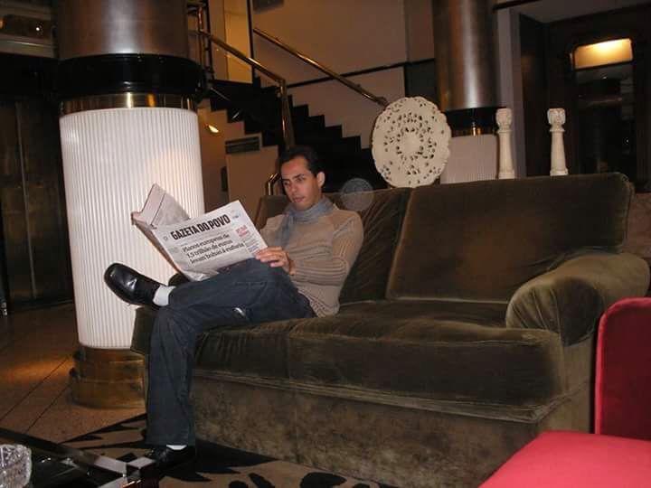 At hotel Bourbon, Curitiba city, Paraná, Brasil