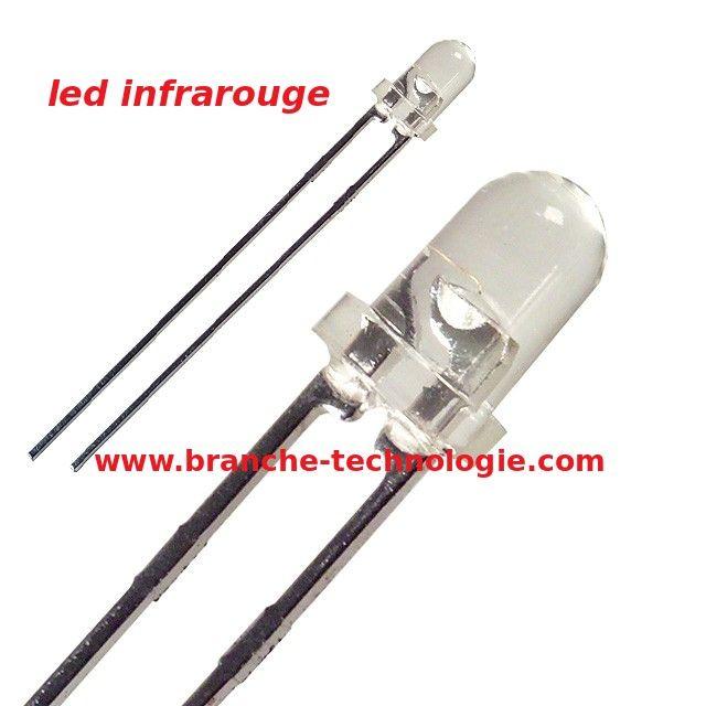 Led Infrarouge Capteur Infrarouge Spectre Electromagnetique