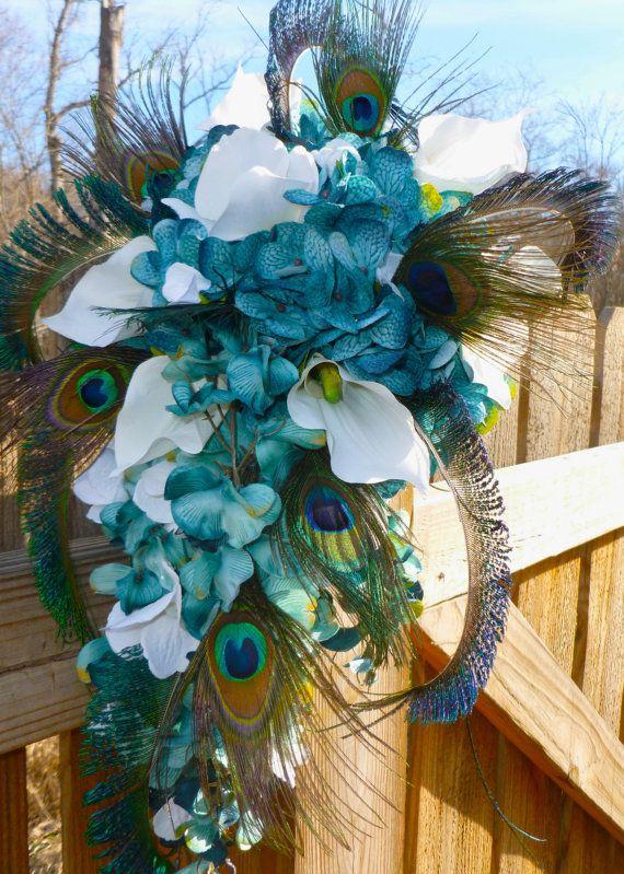 90 best peacock bouquet images on pinterest. Black Bedroom Furniture Sets. Home Design Ideas