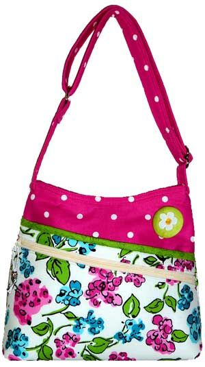Brenda's Bag PDF Sewing Pattern - by Sewphisti-Cat at ePursePatterns   + How to Attach Purse Feet Video Tutorial