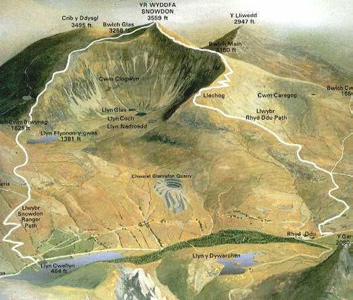 Are you a keen walker? Choose a route to the top of Snowdon and enjoy the majestic views!