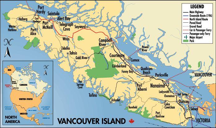Vancouver Island.