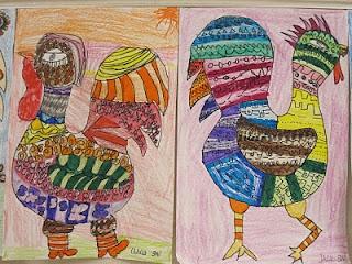I love chickens: Bondgård Farms, Mexicans Folk, Folk Art, Farms Themed, Art Idea, Roosters, Elementary Art, Farms Sanctuari, Idea Cr