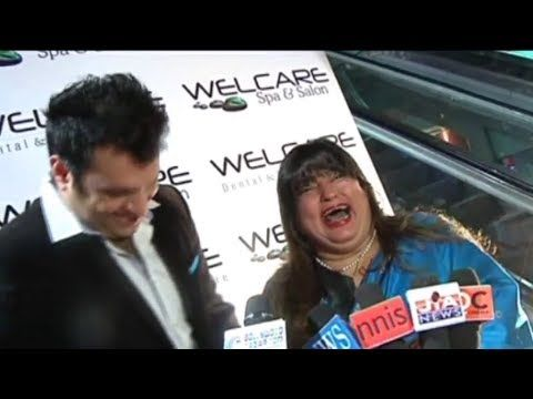 Dolly Bindra OVERACTING during an interview.