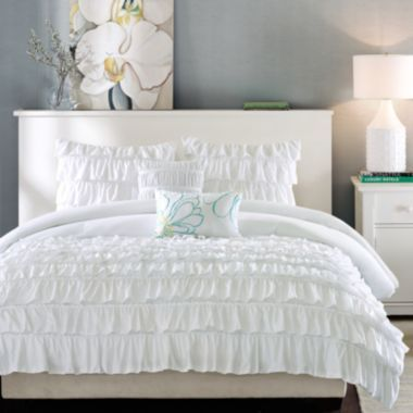 17 best ideas about ruffled comforter on pinterest 15669 | 45fc9f5fccaba2493508fb54143cff17