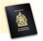 Canadian passport all packed and ready to go!!