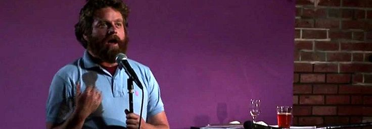 I love Zach Galifianakis as Tairy Green inTim and Eric Awesome Show, Great Job!, and Frisbee in Reno 911!, so was pretty excited to see how he fared as a solo comic. Who is Zach Galifianakis you a...